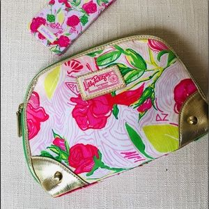 Lilly Pulitzer Zippity -Do Bag DElta Zeta